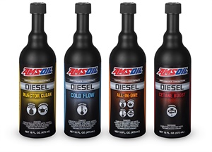 Amsoil combined three of its current additives into the new Diesel All-In-One to provide more options and convenience for diesel maintenance.
