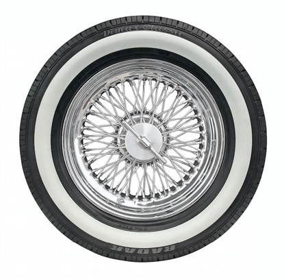 The Dimax Classic comes in two styles, either a black or retro white sidewall.
