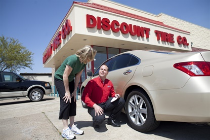Discount Tire offers free air checks all year long, but will dedicate a bay at each of its 925 stores for the service during National Tire Safety Week.
