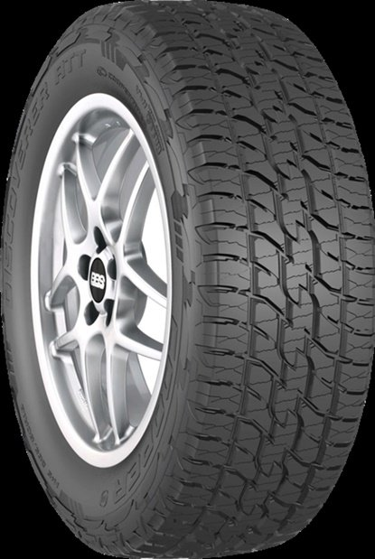 The Discoverer ATT is one of two Cooper tires to win Good Design honors.