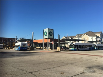 District Station is part of a larger transit-oriented development block located on the corner of 20th Street and 2nd Avenue in downtown Rock Island.