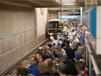 Saturday marked MARTA's busiest travel day in decades, with an estimated 270,000 rail riders, more than double the number seen on a typical Saturday. MARTA