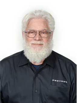 Don Arlett is closing 21 years with Prevost and a long and successful career that began in the 1970s with Greyhound Bus Lines. Photo: Prevost