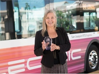 """""""Professionally, I have accomplished everything I had envisioned for RTD and more,"""" said Donna DeMartino of her role as CEO of San Joaquin RTD.SJRTD"""
