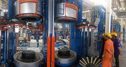 The new Double Coin plantoperates in the Luckchai Rubber Industrial City Hub, located in Thailand's Rayong Province.