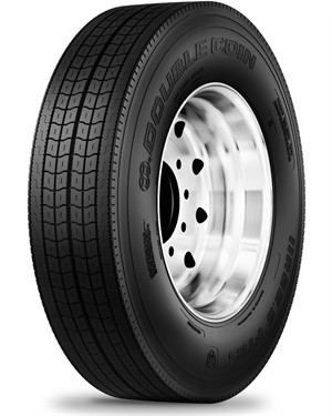 CMA says that with its shallow tread design, the added size in the Double Coin's FT115's daily haul ability will have better wear for a trailer application.