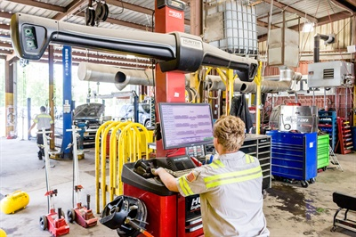 All of Dr. Tire's technicians receive online training, including the Automotive Technical Institute. The dealership is also a member of the Tire Industry Association and South Carolina Tire Dealers Association. Courtesy of Dr. Tire Inc.