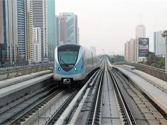 Dubai Metro photo via Wikimedia Commons/Maurits90