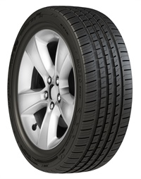 The Duraturn Mozzo Sport has four wide circumferential grooves for superior performance in wet conditions, according to YC Rubber Co. (North America) LLC.