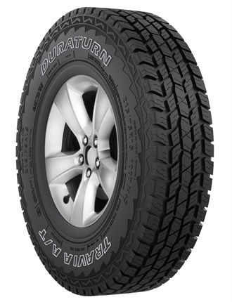 The new Duraturn Travia A/T has a 50,000-mile limited tread wear warranty.