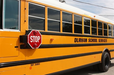 Durham School Serviceswill operate 130 routes and hire more than 220 team members to serve Fairbanks North Star Borough School District. File photo courtesy Durham School Services