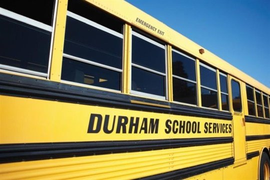 National Express, which includes Durham School Services, will add the Fogmaker fire suppression system (below) on its new school bus purchases.
