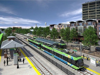 Rendering from Triangle Transit Authority