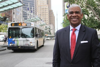 Dwight Ferrell was hired by the Southwest Ohio Regional Transit Authority as its CEO/GM in January 2015.  Photo: SORTA