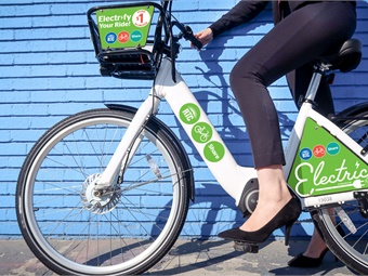 RTC Bike Share is an easy way for residents and tourists to ride to and from the many attractions, restaurants, bars and shops