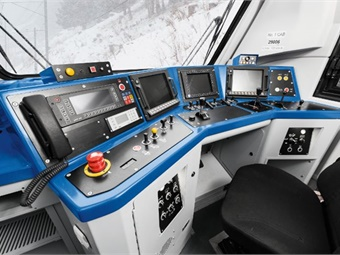 Driver cabs are the central focus of operation within rail applications and are essential for the safe and reliable transportation of passengers. Therefore, HMI systems and controls must be dependable and easy-to-use to reduce the risk of human error.  Photo: EAO