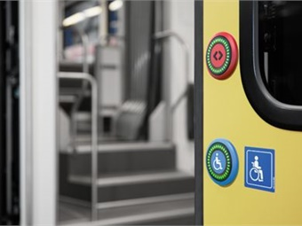 Door openers are used in millions of passenger access applications around the world and are often the only point of interaction between passenger and the rail vehicle. Photo: EAO