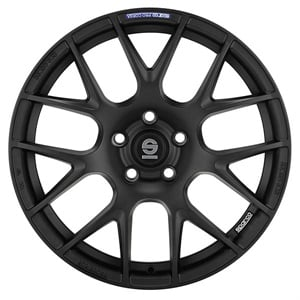 Sparco Wheels' Pro Corsa black painted wheel, courtesy of TR Wholesale Solutions.