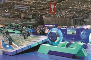 Falken Tyre Europe exhibited for the first time at the Geneva Motor Show in Switzerland.