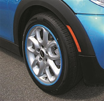According to the manufacturer, the AlloyGator protects wheels from curb damage. It is made of a super tough nylon that is flexible and won't damage alloy wheels during fitting, doesn't affect TPMS and works on run-flat tires.