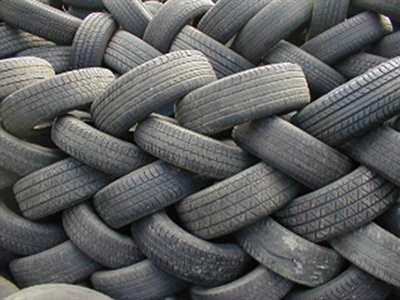 The sale of part-worn tires is a big problem in Europe.