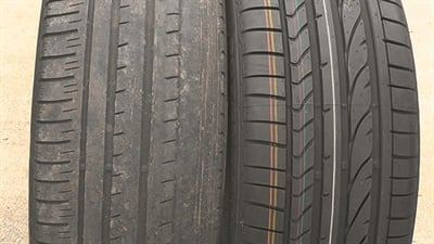 Too many tires checked by Sigmavision technicians looked more like the one on the left.