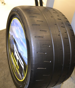 Goodyear's new street-legal track tire is the Eagle F1 Supercar R3.
