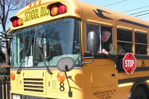 Earl Rineer, who just celebrated his 90th birthday, continues to pass his annual physical, train and test school bus drivers, and drive when needed.