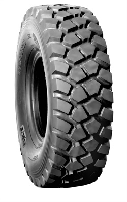 The block pattern on theEarthmax SR 33 provides superior traction on any surface, including ice and snow.