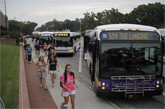 Photo courtesy ECU Transit
