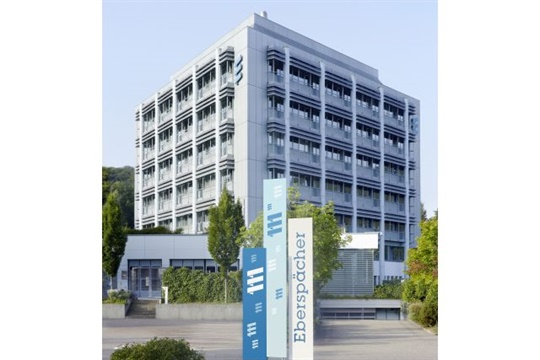 Eberspaecher now holds 80% of the shares in battery management company Vecture. Seen here is Eberspaecher's research and development center in Esslingen, Germany.