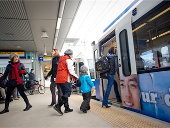 A third-party contractor will deploy security guards at 25 of Edmonton Transit System's transit centers/stations that have had at least one major incident reported in the past five years. Photo: City of Edmonton