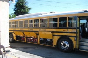 Partnership To Repower School Buses With Electric