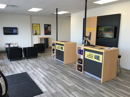 Meineke is rolling out a new look, and says it will be used in all of its almost-950 locations.