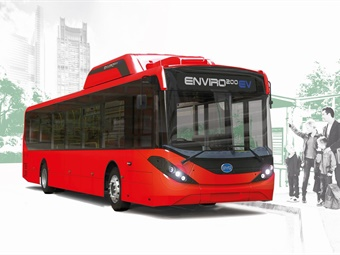 The Enviro200EV combines BYD's state-of-the-art battery technology with ADL's expertise in building lightweight, passenger-centric buses. ADL