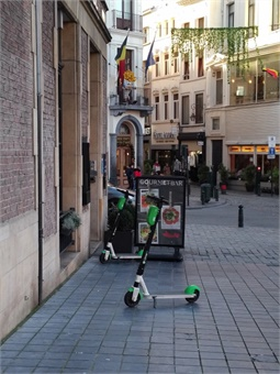 For the development of these new services to be a real success, Brussels Mobility wishes to be able to work closely and confidently with the various operators. Giles Bailey
