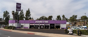 Vista, Calif.-based Evans Tire & Service Centers opened stores in La Mesa (pictured) and Scripps Summit in 2017 and Penasquitos in 2018. The dealership has 19 stores in Southern California and is tied for No. 59 on the Modern Tire Dealer 100.