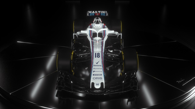 The Williams Mercedes FW41 will contest the Formula One World Championship in 2018.