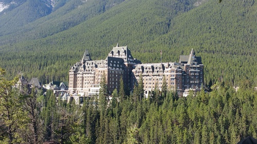 The Fairmont Banff Springs played host to some two dozen Falken dealers in August. The resort was built in 1888. A fire destroyed the original wood building in 1926. The current hotel has been standing since 1928.