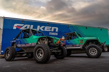 The SAVVY Off-Road team has relied on Falken tires since 2012, and earned six overall wins and eight class wins in that time.