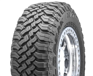 The WildPeak M/T tire in size LT285/70R17C appears on the 2019 Jeep Wrangler Rubicon.