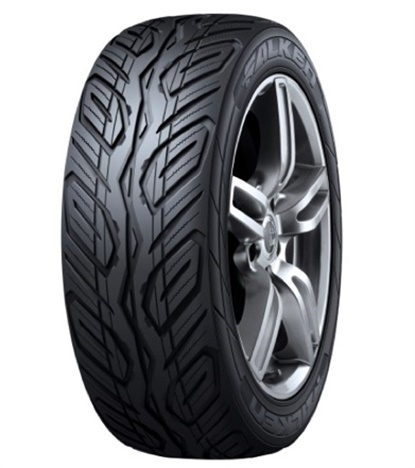 The Falken concept tire is featured in size 275/50R21 on the Subaru Ascent, a concept SUV.