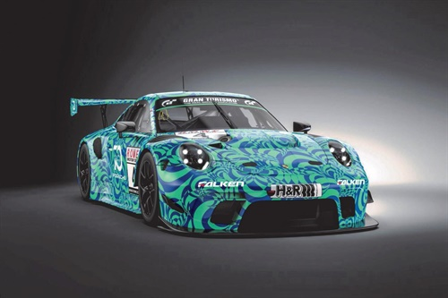 The 2019 Porsche 911 GT3 R will make its customer racing debut this weekend in the iconic Falken Motorsport teal and blue colours.