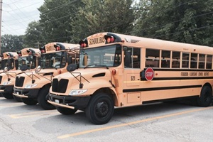 In light of the civil unrest in the area, the Ferguson-Florissant School District will temporarily expand its bus service to make sure students get to school safely.