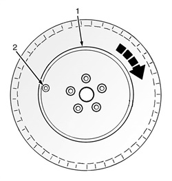 Figure 5: Mounting the tire using a rotating wheel machine.