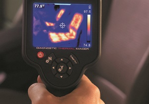 Some thermal imagers come pre-loaded with test procedures and known-good image libraries.