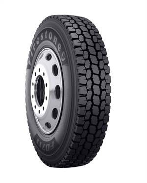 Bridgestone recommends the new Firestone FD711 drive tire for long and regional haul service, pickup-and-delivery service and light-to-moderate on/off highway environments.