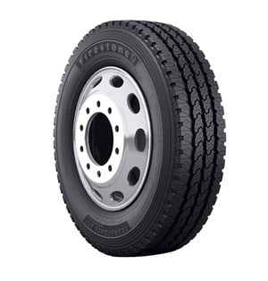 Bridgestone has added sizes for Class 4-5 commercial vehicles to the Firestone Transforce tire line.