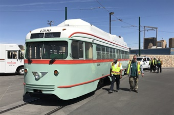 Streetcar service will be operated by the City of El Paso's Mass Transit Department, known locally as Sun Metro. Photo courtesy of CRRMA