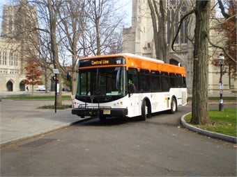 Princeton University's Tiger Transit. Photo: First Transit